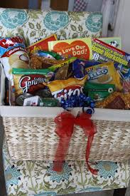 fathers day basket gifts for men s day treat gift basket a spotted pony