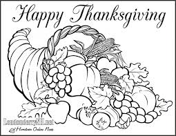 free thanksgiving color pages funycoloring