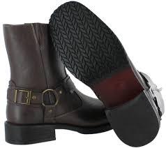 robert wayne connor men u0027s harness boots moto faux leather ebay