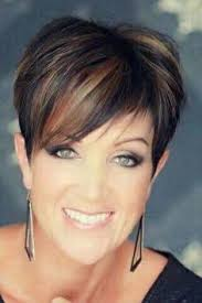 overweight with pixie cut short hairstyles over 50 short blonde pixie http