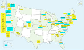 A Picture Of The Map Of The United States by Map Of Featured Cities And Counties Managing And Transforming
