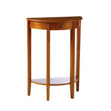 Half Moon Console Table The Simple Fabulous Beavin Half Moon Console Table