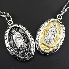wholesale jewelry necklace images Buy amumiu quot our lady guadalupe quot religious jpg