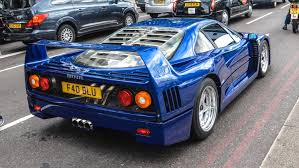 blue f40 amazing supercars in 2015 zonda cinque blue f40 enzo