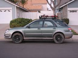 subaru outback lifted off road 06 impreza outback sport vs u002708 wrx i club adventure mobile