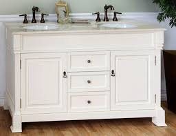 Bathroom  Inch Vanity Top Single Sink Light Base Cabinets - Bella 48 inch bathroom vanity white