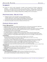 professional objectives professional summary examples by richard vassor how to write a