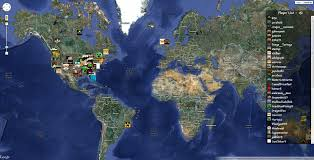True Map Of The World by Real World Map At Roundtripticket Me