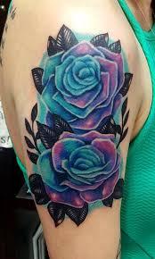 blue roses by neumann tattoonow