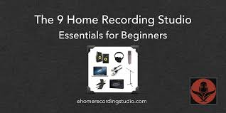 52b home recording studio essentials png