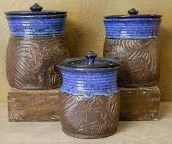 canister set jenny gulch pottery u0026 art