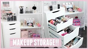 makeup storage 40 stupendous makeup storage and organization