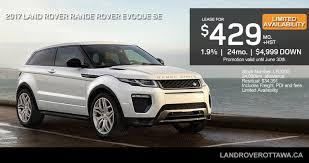 land rover evoque custom 2017 range rover evoque hse land rover ottawa