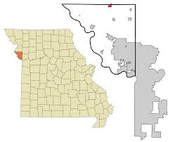 Zip Code Map Missouri by Dearborn Missouri Wikipedia
