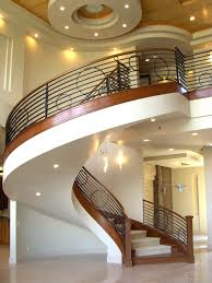 unique stairs majestic home ideas with modern recessed lighting and stylish