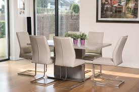 seattle concrete luxe dining table u0026 four chairs