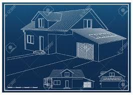 house blueprint royalty free cliparts vectors and stock
