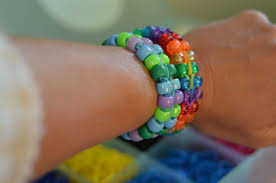 make beads bracelet images Rubber band bracelets the saga continues with beads two clever jpg