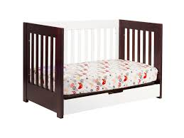 Espresso Convertible Cribs by Babyletto Mercer 3 In 1 Convertible Crib In Espresso And White M6801qw