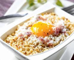 cuisiner le quinoa quinoa gourmand carbonara recette tipiak