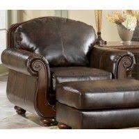 ashley furniture chair and ottoman ashley furniture leather sofas palmer walnut leather sofa bernie