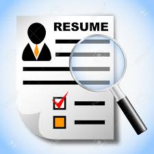 Keywords For Human Resources Resume Resume And Magnifying Glass Human Resource Recruitment Royalty