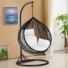 Swing Indoor Chair Tinkertonk Garden Patio Rattan Swing Chair Wicker Hanging Egg
