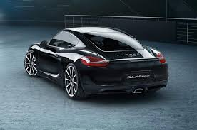 porsche silver paint code 2016 porsche cayman black edition shows off stealth beauty motor