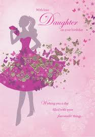 sara miller daughter silhouette birthday card 36444 1410074286