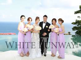 Lilac Dresses For Weddings White Runway