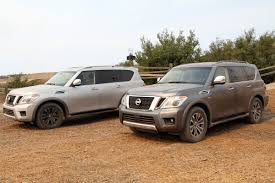 nissan armada 2017 vs patrol 2017 nissan armada first drive review u2013 first american patrol