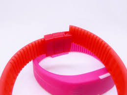 rubber bracelet watches images New hot fashion led watches candy color silicone rubber touch jpg