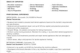 Dental Technician Resume Sample by General Counsel Resume Sample Reentrycorps