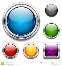 buttons designen glossy buttons design elements royalty free stock images image