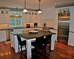 kitchen island table combination kitchen island dining table white regarding combination inspirations