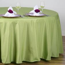 Fitted Round Tablecloth Apple Green 108