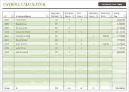 Excel Payroll Calculator Template Excel Template Employee Salary