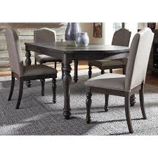 liberty furniture catawba hills dining 5 piece table with leaf