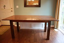 craftsman farmhouse ana white craftsman style farmhouse table hybrid diy projects