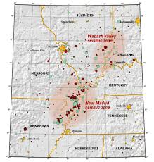 United States Fault Lines Map the big one preparing for mid america earthquake local news