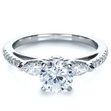 set diamond tension set diamond engagement ring 1272