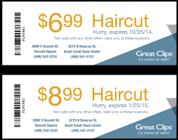 are haircuts still 7 99 at great clips free great clips coupon for july printable coupon pictures