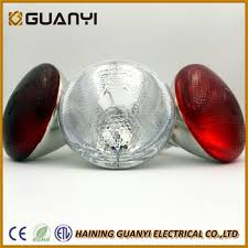 250w infrared heat l 150w 175w 250w painted red r125 br40 par38 infrared heat l for