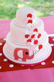 ella u0027s 1st birthday elephant cake