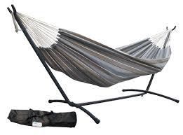 Hammock With Wood Stand Aura Outdoor Products Sunbrella Hammock With Stand U0026 Reviews Wayfair