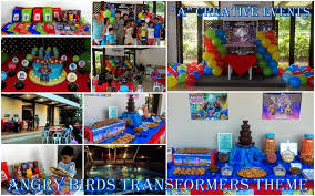 transformers birthday decorations kiddie party packages according to theme athena miel s