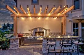 outdoor kitchen lighting ideas 25 brilliant ideas for outdoor kitchen designs build remodel