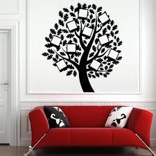 Aliexpress Home Decor Aliexpress Com Buy Photo Frame Family Tree Wall Decal Vinyl