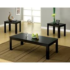 3 piece end table set furniture of america cm4329 3pk bay square three piece coffee table
