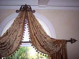 Curtains For Windows With Arches Half Moon Window Half Moon Window Treatment Ideas Arch Window